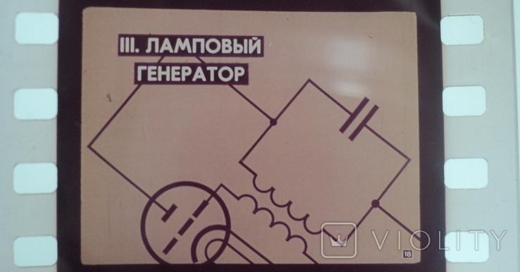 Электрические колебания диафильм 1971 год, фото №6