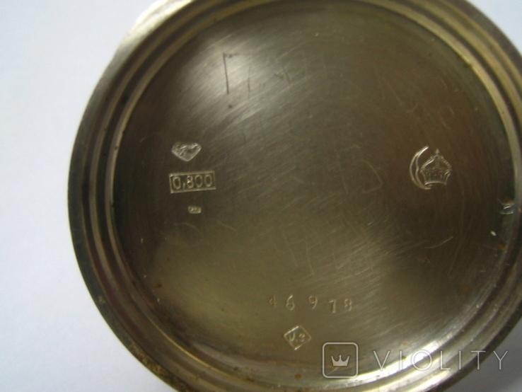 Цилиндровые часы, фото №3