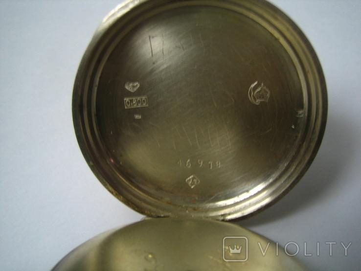 Цилиндровые часы, фото №4
