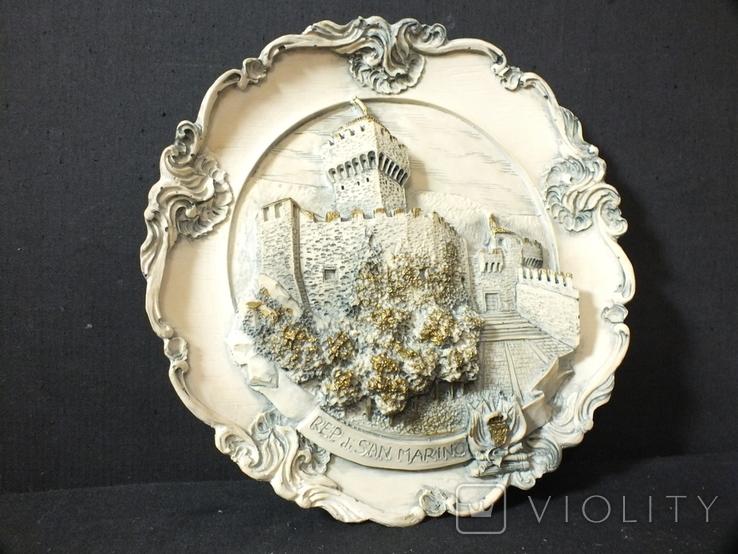 """Тарелка Настенная """"San Marino"""", фото №2"""