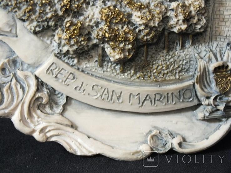 """Тарелка Настенная """"San Marino"""", фото №3"""