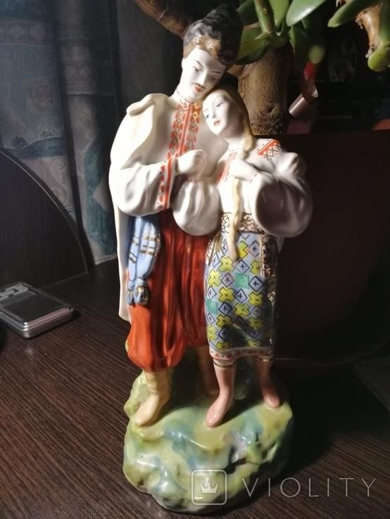 Статуэтка Вакула и Оксана, фото №2