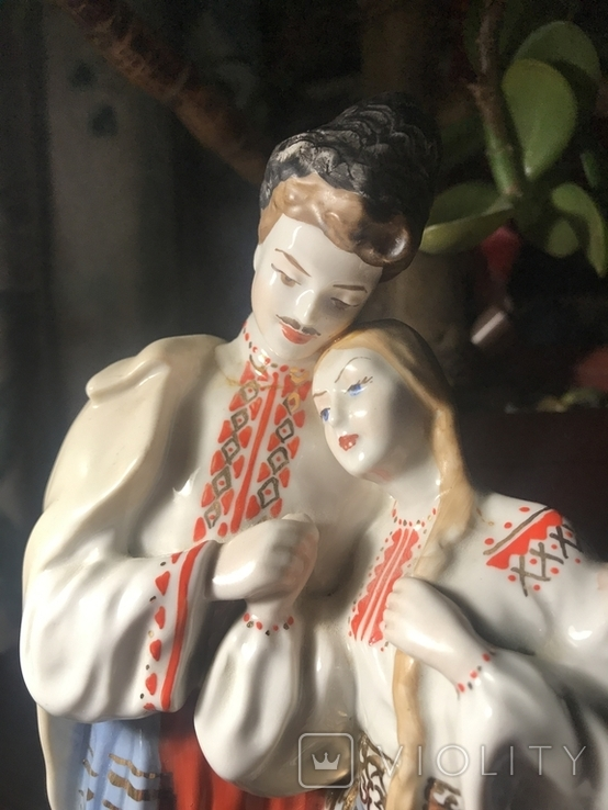 Статуэтка Вакула и Оксана, фото №3