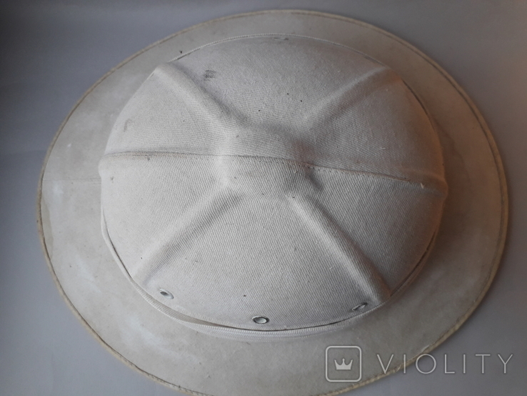 Тропический шлем Sahara, Франция, 1950-е - колониальные войны - Алжир, Индокитай, фото №3