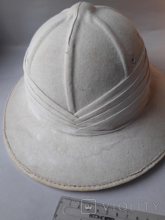 Тропический шлем Sahara, Франция, 1950-е - колониальные войны - Алжир, Индокитай, фото №7