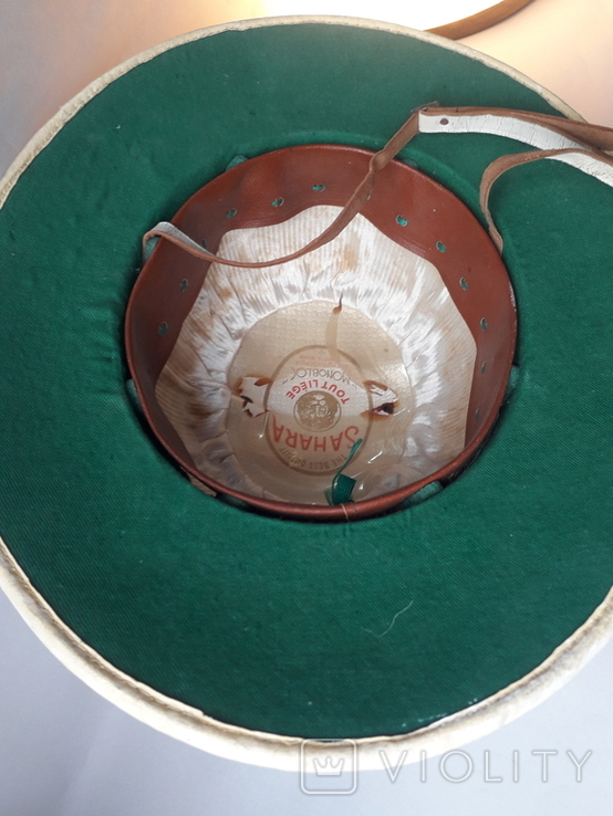 Тропический шлем Sahara, Франция, 1950-е - колониальные войны - Алжир, Индокитай, фото №10