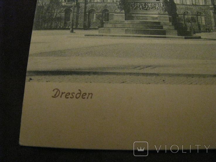 Открытка - виды Дрездена - довоенная № 5., фото №3