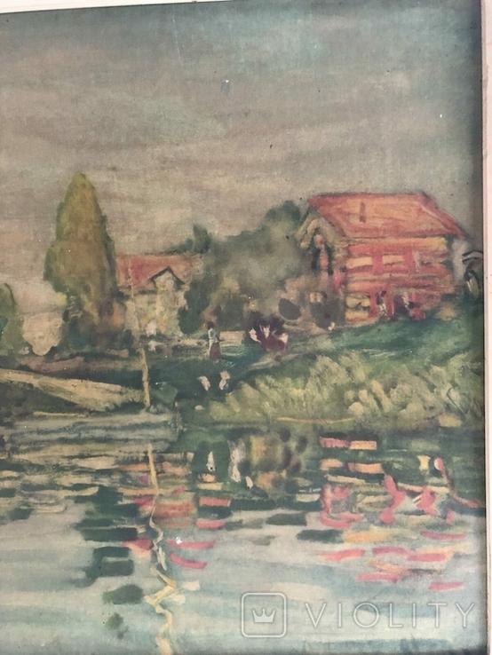 Репродукция картини Клода Моне CLAUDE MONET 1840-1926 Regatta in argenteuil, фото №5