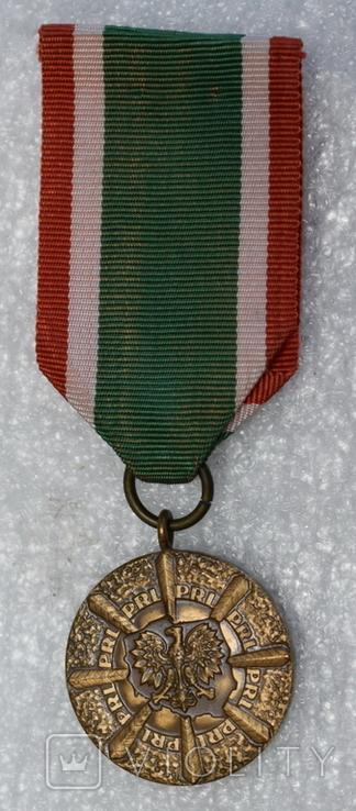 Медаль Польша тяжелая, фото №2