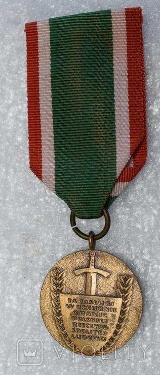 Медаль Польша тяжелая, фото №3
