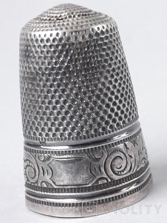 Напёрсток, наперсток, серебро, 3.8 грамма, Франция, фото №4