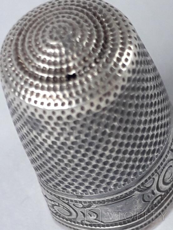 Напёрсток, наперсток, серебро, 3.8 грамма, Франция, фото №6