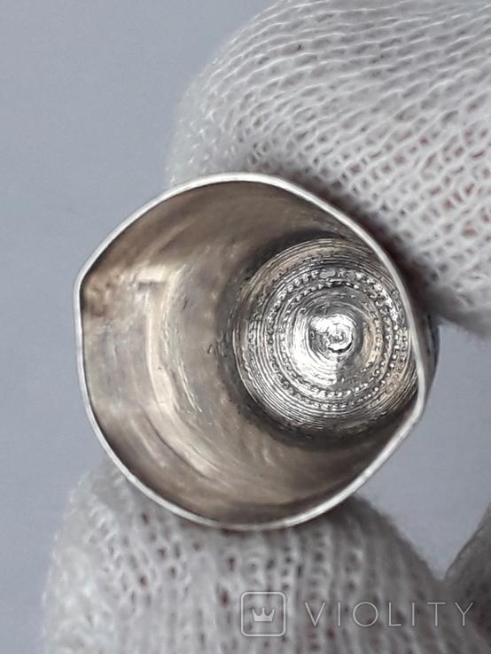 Напёрсток, наперсток, серебро, 3.8 грамма, Франция, фото №8