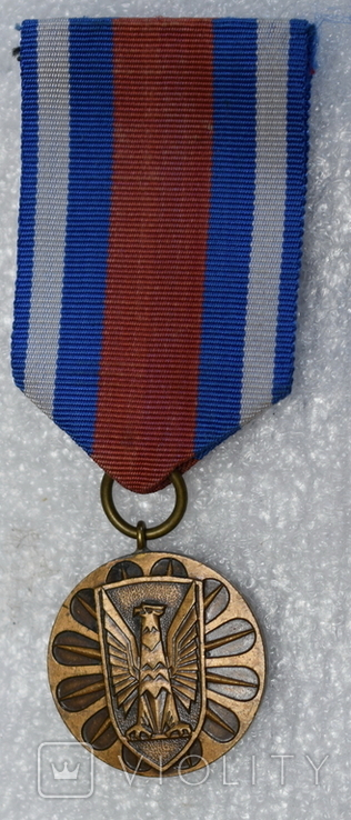 Медаль Польша тяжелая 3, фото №2