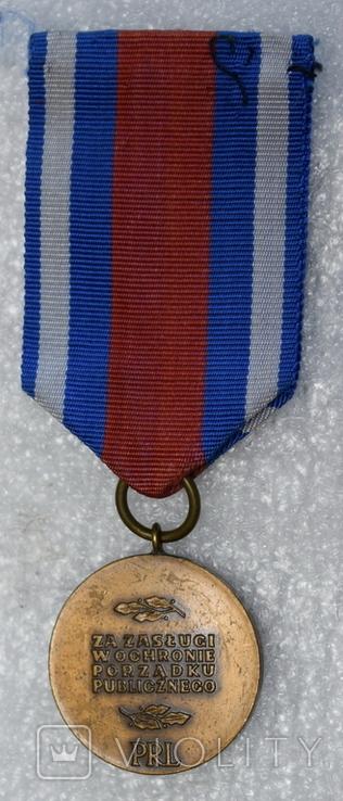 Медаль Польша тяжелая 3, фото №3