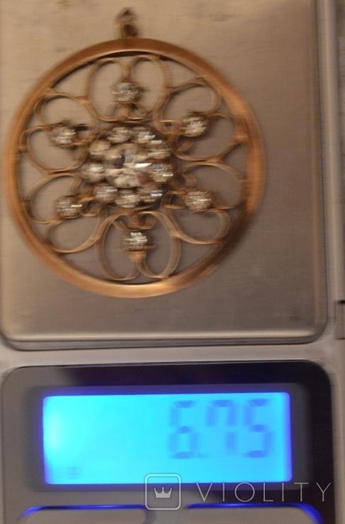 Красивая подвеска - 875,звезда, 6.75гр.., фото №9