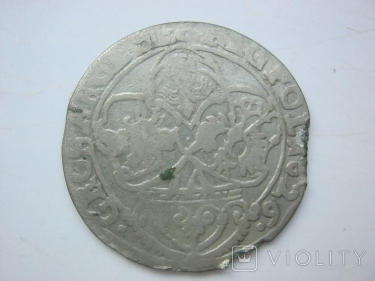 Краковский шестигрошовик Сигизмунда Вазы 1626., фото №3