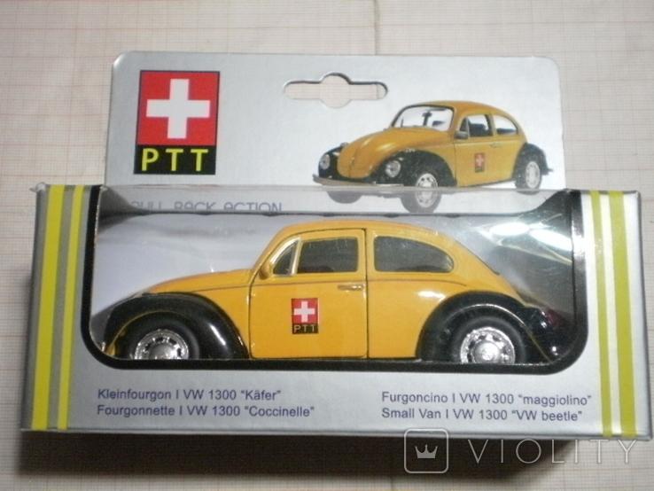 """Модель автомобиля VW """"Жук"""" Швейцарская почта, фото №2"""