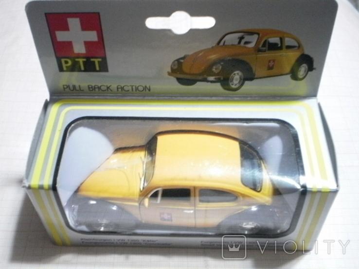 """Модель автомобиля VW """"Жук"""" Швейцарская почта, фото №3"""