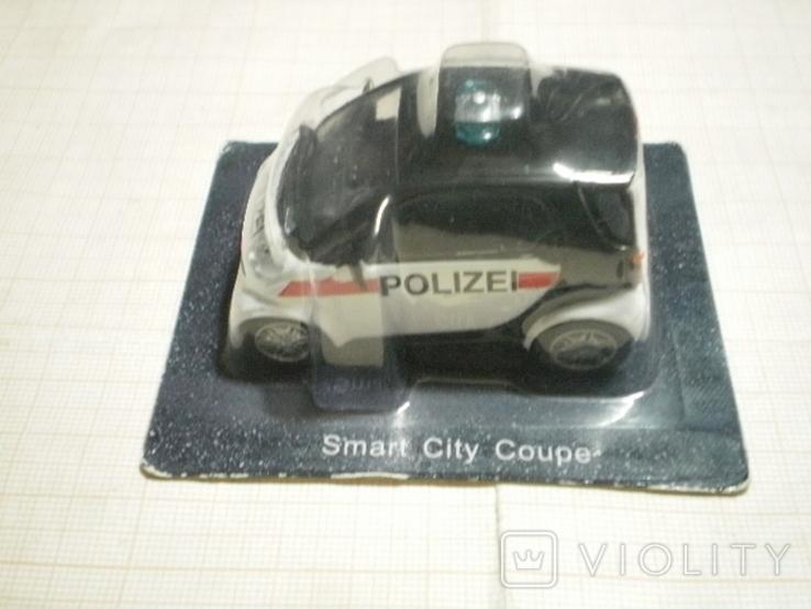 Модель автомобиля SMART полиция Австрии, фото №2