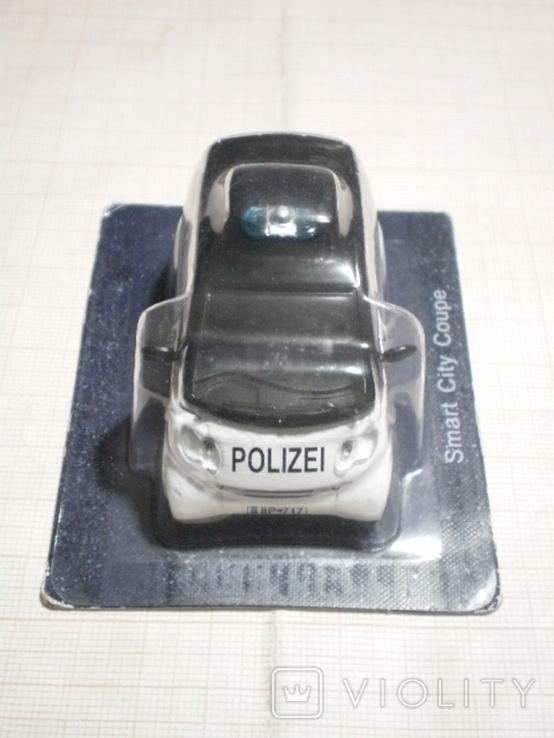 Модель автомобиля SMART полиция Австрии, фото №3