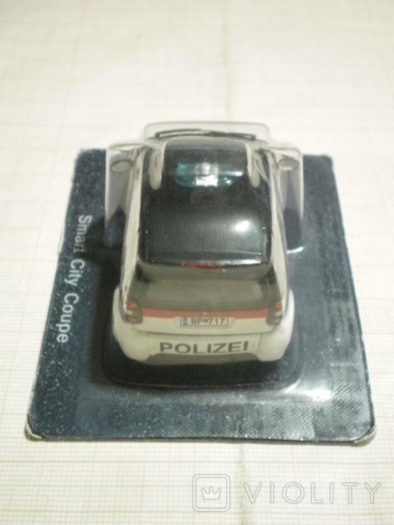 Модель автомобиля SMART полиция Австрии, фото №4