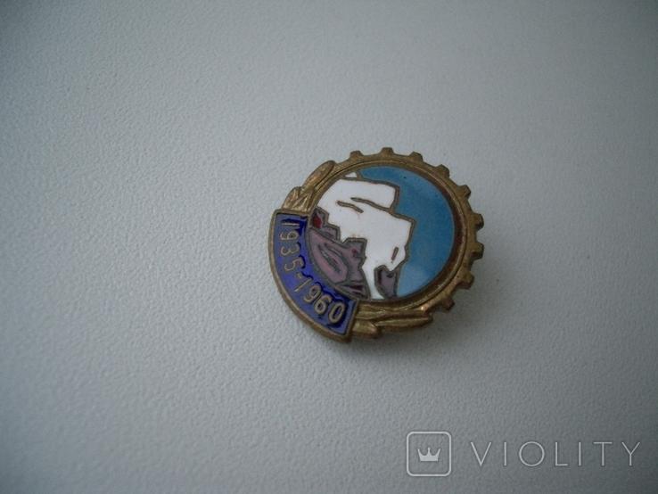 """Знак""""1935-1960""""юбилей, Эльбрус,альпинизм, фото №3"""