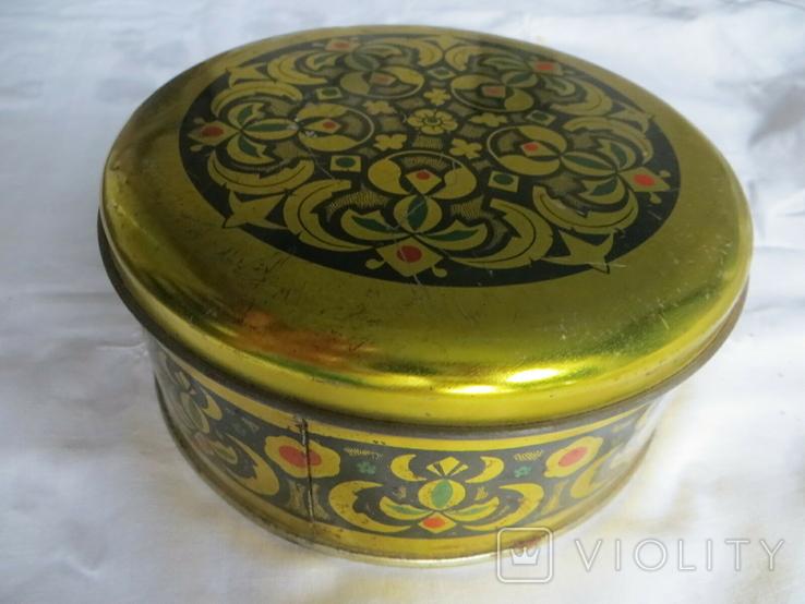 Металлическая коробка, ТАХАН ХАЛВА серидина ХХ в, фото №3