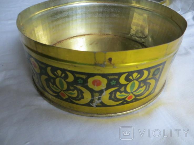 Металлическая коробка, ТАХАН ХАЛВА серидина ХХ в, фото №6
