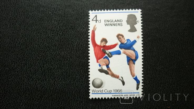 1966г. Англия чемпион.**, фото №2