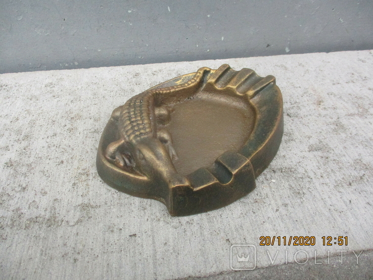 Пепельница алюминий (307гр.), фото №2