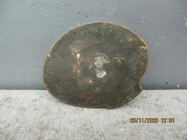 Пепельница алюминий (307гр.), фото №4