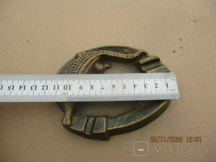 Пепельница алюминий (307гр.), фото №6