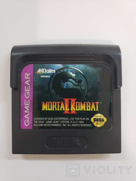 Mortal Kombat II (Sega Game Gear), фото №2