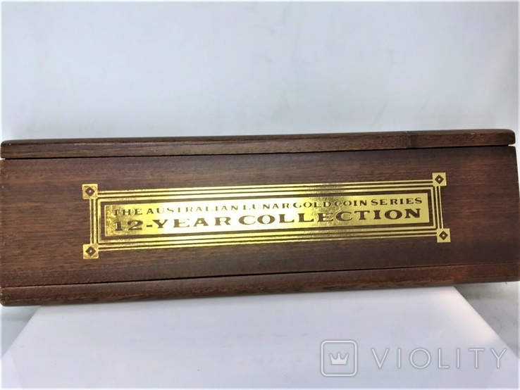 Австралия полный набор лунаров 1-я серия 1/20 унции золото, фото №3