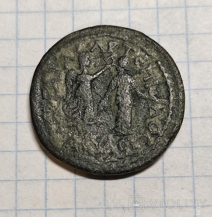 Ликия,Памфилия,Перге,Филипп ll,AE 27mm., фото №4