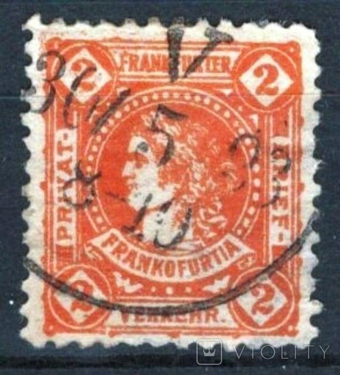 Гг047 Германские города. Франкфурт-на-Майне 1887 №А10с