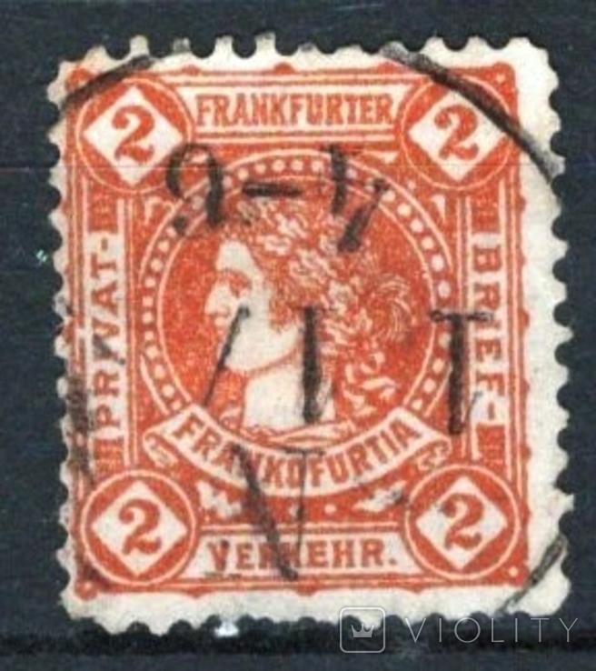 Гг048 Германские города. Франкфурт-на-Майне 1887 №А10b