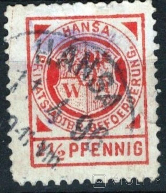 Гг052 Германские города. Бреслау 1894 №Е9g