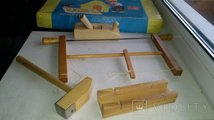 Набор игрушечных инструментов ПО Мир Минск СССР, фото №8