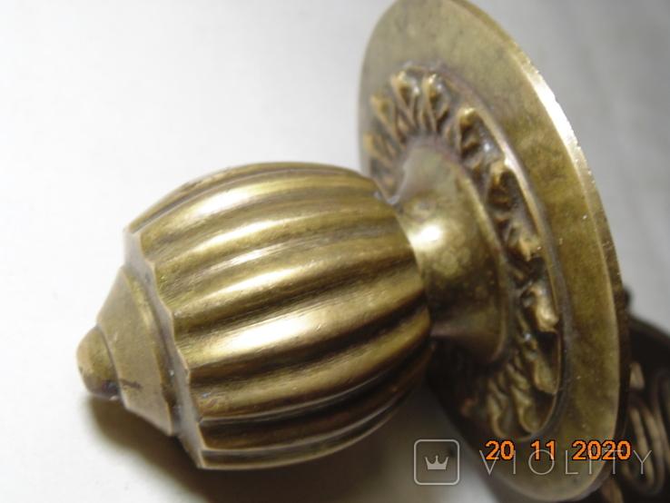 Изделия с бронзы 770 грм. Ручки и прочее. описание., фото №9