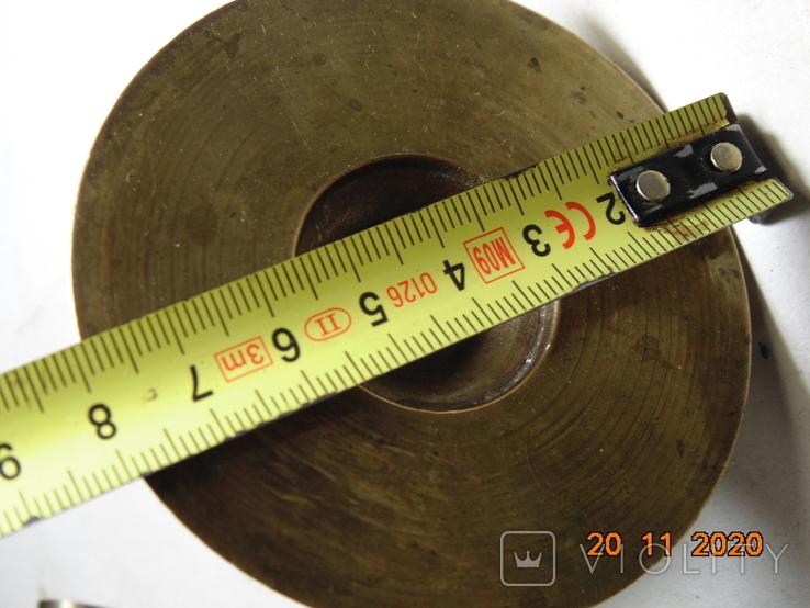 Изделия с бронзы 770 грм. Ручки и прочее. описание., фото №10