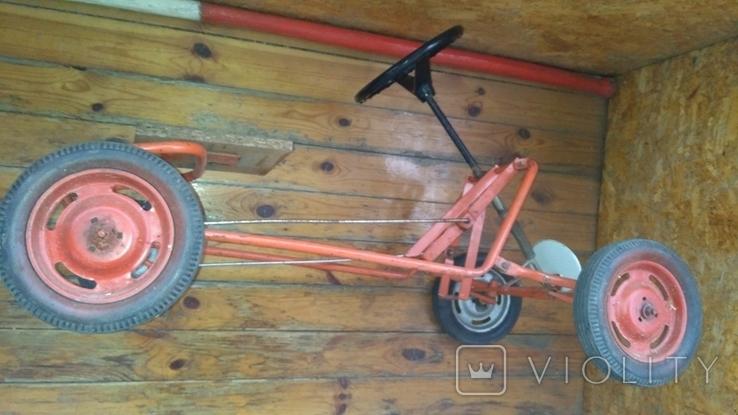 Педальная машинка под ремонт или на запчасти, фото №5