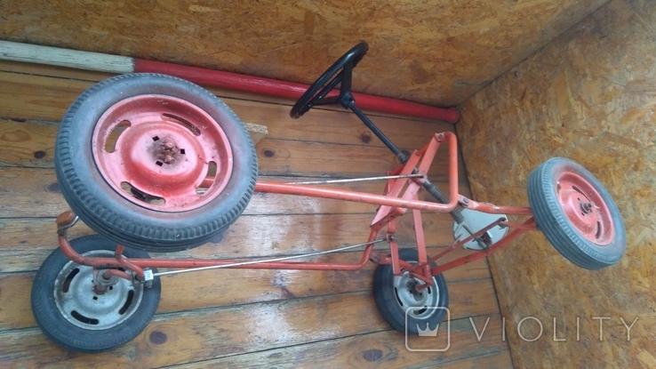 Педальная машинка под ремонт или на запчасти, фото №6