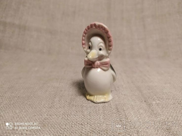 """Фарфоровая статуэтка """"Пингвин"""" ГДР, фото №2"""