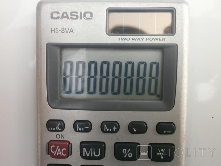 Калькулятор casio, фото №5