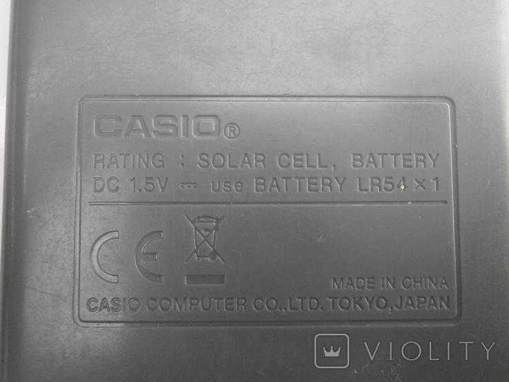 Калькулятор casio, фото №9