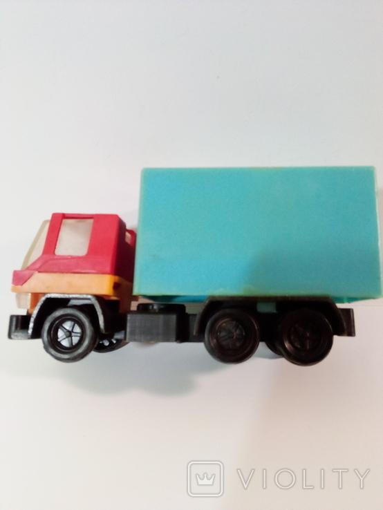 Игрушка грузовик пластмассовый  (СССР, 70е г.), фото №2