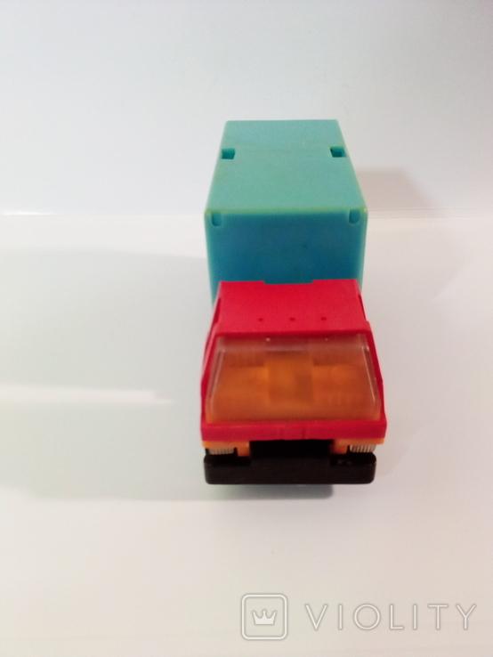 Игрушка грузовик пластмассовый  (СССР, 70е г.), фото №4