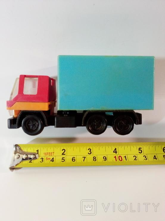 Игрушка грузовик пластмассовый  (СССР, 70е г.), фото №8